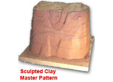 Sculpted Clay Master Pattern